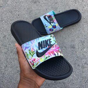 Nike Shoes | Wmns Nike Benassi Slides